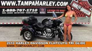 9. 2010 Harley Davidson FLHTCUTG Tri Glide Ultra Classic - Used Trike for Sale
