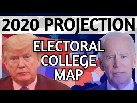 Trump vs Biden 2020 Electoral College Map | 2020 Election Analysis