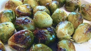 Betty demonstrates how to make Roasted Brussels Sprouts to accompany Easter dinner. This method of preparing Brussels sprouts is delicious and very healthy ...