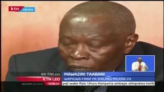 KTN Leo: Mawaziri Kaunti Ya Nyeri Kortini Kwa Kutowajibikia Pesa Ya Umma, 26/9/2016