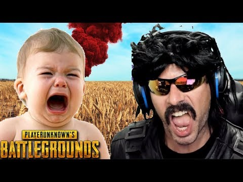 Twitch - DrDisRespect plays with Non-English Speaker on Battlegrounds!