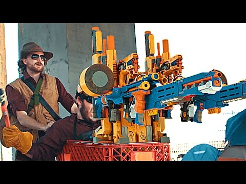 Nerf Team Fortress Recreate Team Fortress 2 With Nerf