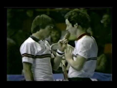 John McEnroe v Jimmy Connors