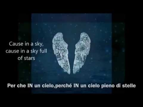 Coldplay - A Sky Full of Stars lyrics + traduzione italiana