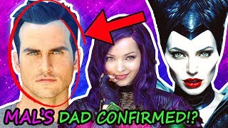 Descendants 3 🍎 MAL'S FATHER FINALLY CONFIRMED?! ⚠️ #D3 Deets Cast List Confirmed New Characters 🔥