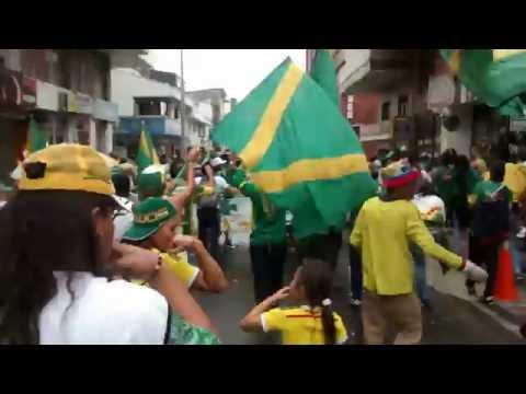 Artillería Verde, Marcha Carnaval - Artillería Verde Sur - Deportes Quindío