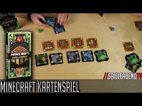 Let's Play • Minecraft Kartenspiel Cardgame • Anleitung + Spiel