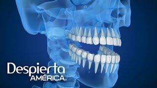 El Doctor Juan asegura que este dolor se genera por un movimiento involuntario que realizan las personas con sus dientes cuando duermen. Descubre cómo aliviarlo.SUSCRÍBETEhttp://bit.ly/20L91KL Síguenos enTwitterhttps://twitter.com/DespiertaAmericFacebookhttp://facebook.com/despiertamericaVisita el sitio oficialhttp://www.univision.com/shows/despierta-america/inicio En Despierta América encontrarás, tips de belleza, recetas, invitados famosos, entrevistas exclusivas , noticias, rutinas para ponerte en forma y  mucha diversión. Karla Martínez, Alan Tacher, Satcha Pretto, Johnny Lozada, Ana Patricia y Francisca te esperan todos los días de Lunes a Viernes 7AM/6C por Univision