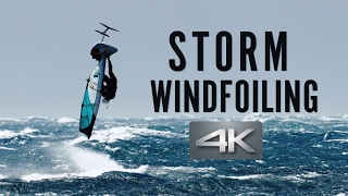 Storm Windfoiling
