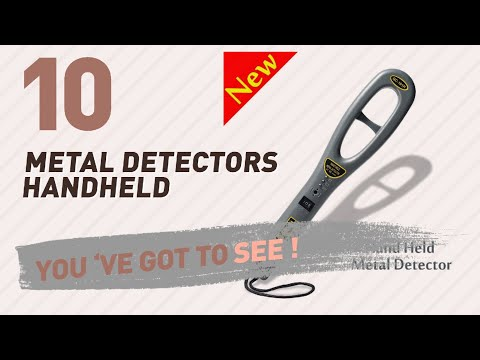 Metal Detectors Handheld // New & Popular 2017