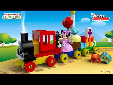 Vidéo LEGO Duplo 10597 : La parade d'anniversaire de Mickey et Minnie