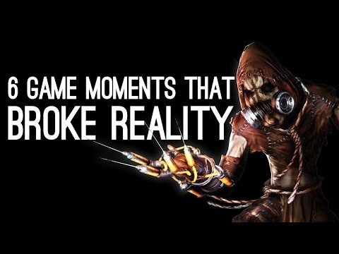 videogame - 6 Videogame Moments That Broke Reality: Contrary to what the tabloids would have you believe, gamers can tell the difference between videogames and reality. ...