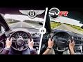 Download Lagu Range Rover Sport SVR vs Bentley Bentayga ACCELERATION 0-250 km/h Autobahn POV & SOUND by AutoTopNL Mp3 Free