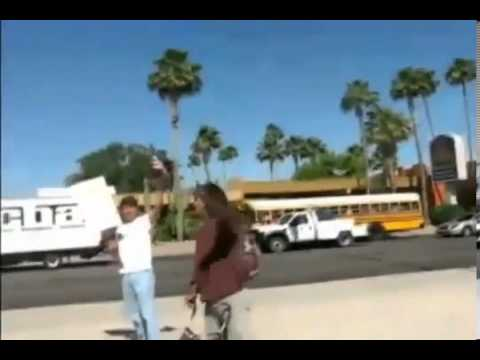 Native American Shuts Up Anti-immigration radicals