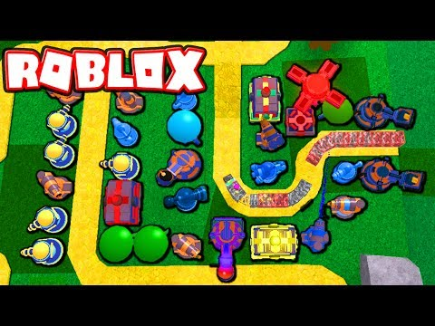 ROBLOX TOWER DEFENCE MONEY GAME!