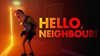 Hello Neighbor Gameplay Walkthrough With Some Secrets Part 1 LiveSTream!