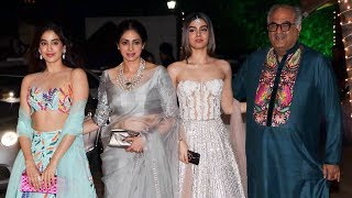 Video Sridevi With HOT Daughters Jhanvi & Khushi Kapoor At Shilpa Shetty's Diwali Party MP3, 3GP, MP4, WEBM, AVI, FLV Desember 2018