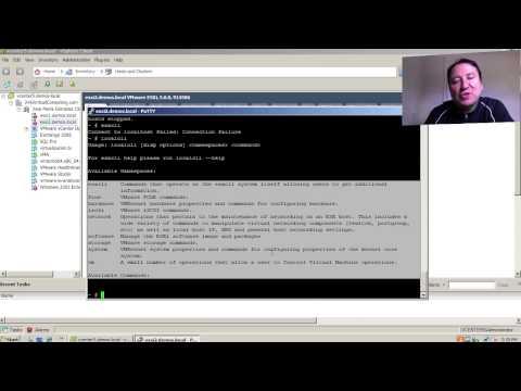 ¿Cual es la diferencia entre esxcli y localcli en VMware vSphere?