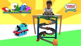Thomas and Friends Spills and Thrills on Sodor Take N Play Set Unboxing & Playtime
