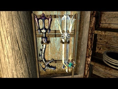 keyblade - Daily feature on the best new and old mods in Skyrim, updated everyday! Download here:  Kingdom Hearts Keyblade Collection (Steam): http://steamcommunity.co...