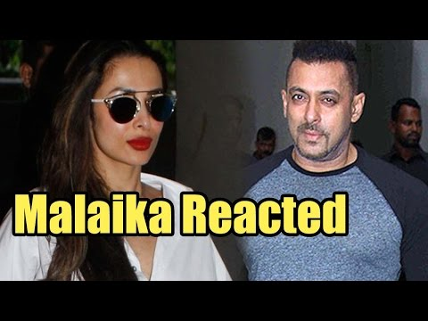 Here's How Malaika Arora Khan Reacted On Salman Kh