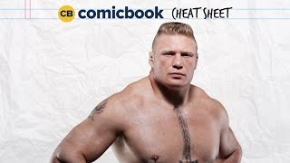 ComicBook Cheat Sheet: Brock Lesnar by Comicbook.com