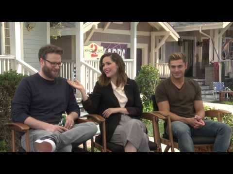 Neighbors 2: Sorority Rising: Seth Rogan, Zac Efron & Rose Byrne Official Movie Interview
