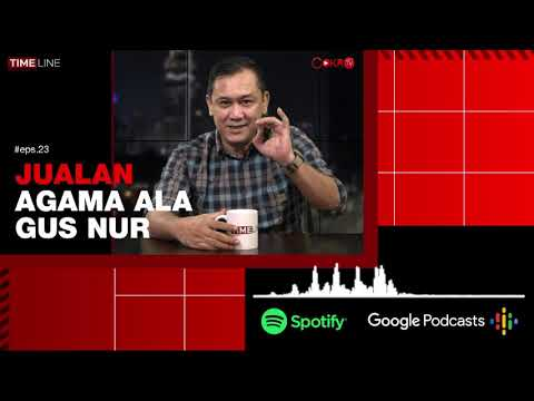 [#CokroTVPodcast] Denny Siregar: JUALAN AGAMA ALA GUS NUR