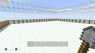 Minecraft: How to Build a SPLEEF Arena on Xbox/Playstation