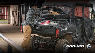 7. Can-Am Defender 2017 Cargo Accessories