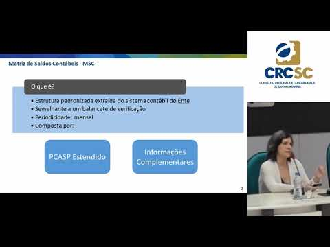 Debate CRCSC - Matriz de Saldos Contábeis