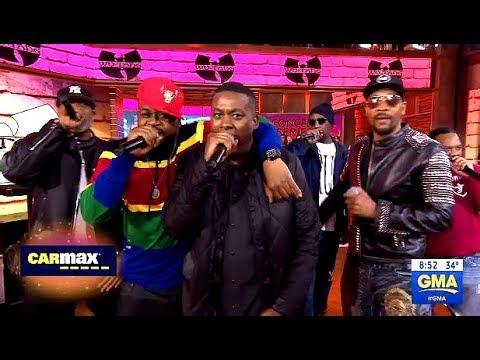 Wu-Tang Clan - Performs Protect Ya Neck - GMA Live
