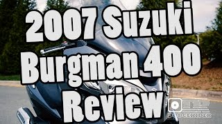 7. 2007 Suzuki Burgman 400 - Bike Review