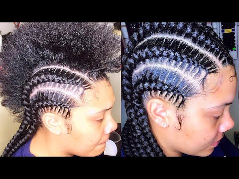 BEST And EASY Stitch Feed IN BRAIDS  | Very Detailed