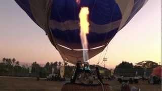 International Hot Air Ballon Festival Chiang Mai Thailand 2012