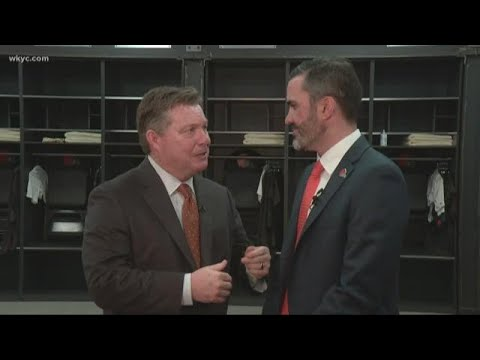 Jimmy goes 1-on-1 with Browns new head coach Kevin Stefanski