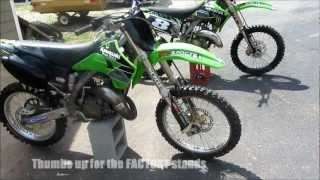 5. NEW Practice Bike and Parts! HD Kawasaki kx125 2005 and 2003