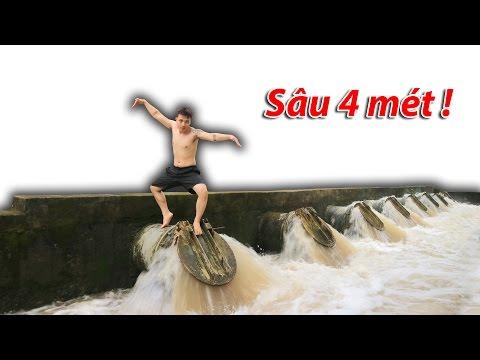 NTN - 4K Thử Nhảy Xuống Đập Xả Nước ( Water Discharge ) (видео)