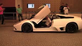 How to park a Lamborghini Versace in Dubai