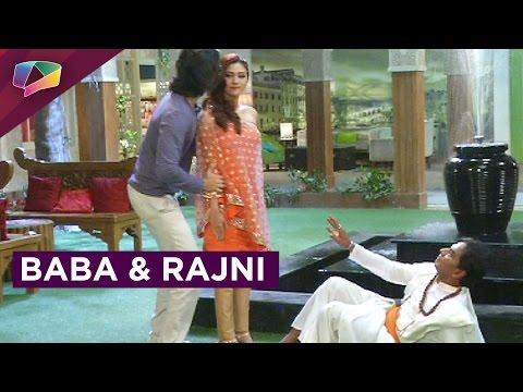 Baba meets Robotic-Rajni in Bahu Hamari Rajnikant