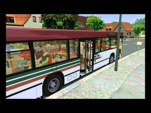 Omsi Bus Simulator 2011 MAN NL202 Transdev livery on Grundorf Map Route 76