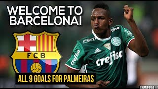Download Video Yerry Mina ● All 9 Goals for Palmeiras 2016-2017 ● Welcome to Barcelona   HD MP3 3GP MP4