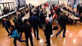 Bizanos France  city photos : La droite unie fête la victoire à Bizanos dans les Pyrénées-Atlantiques