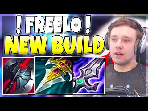 FINALLY THIS SEASON 5 BUILD IS BACK!! (FREELO) - League of Legends