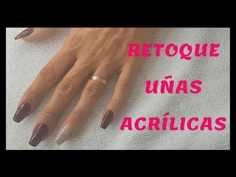 Uñas acrilicas - RETOQUE DE UÑAS ACRÍLICAS  sandranewlook