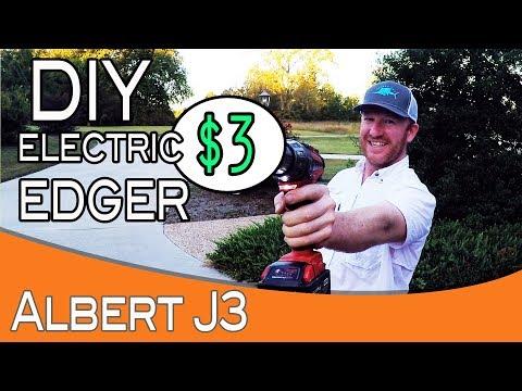 $3 DIY Electric Edger (видео)