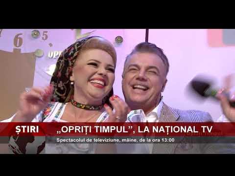 """""""Opriți Timpul"""", mâine, pe Național TV"""