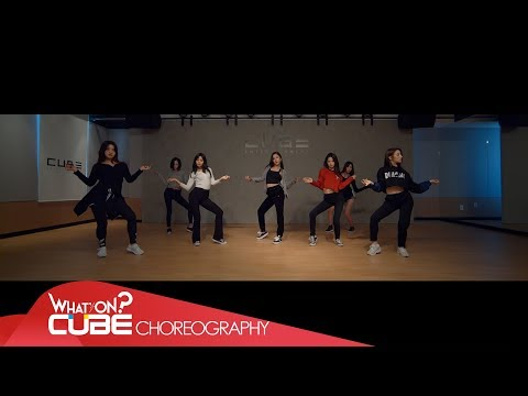 CLC(씨엘씨) - 'BLACK DRESS' (Choreography Practice Video)