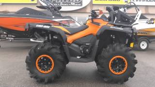 9. Orange Black XTP PPSM Mud Special! 2015 Outlander 1000 Gen2