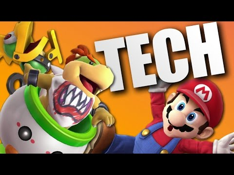 New CRAZY Bowser Jr Tech (Smash Wii U/3DS)
